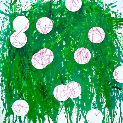 Acrílico sobre lienzo. 60 x 60 cm. 2014