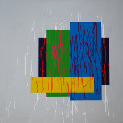Acrílico sobre lienzo. 80 x 80 cm. 2015