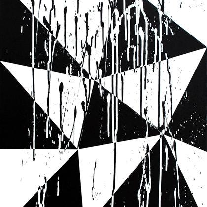 Arlequinada I.  Acrílico sobre lienzo. 60 x 50  cm.  2012