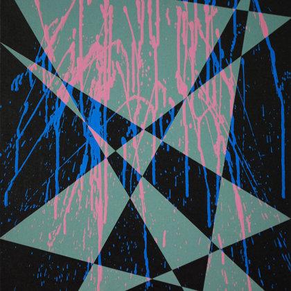 Arlequinada II.  Acrílico sobre lienzo. 60 x 50 cm.  2015