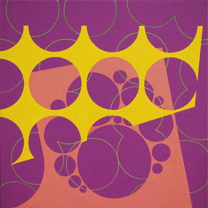 Colmena.  Acrílico sobre lienzo. 40 x 40 cm.  2012