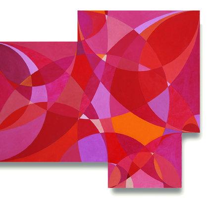 Cielo rojo. 58 x 70 cm. 2008