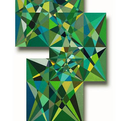 Infierno verde. 120 x 80 cm. 2008