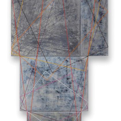 Aracne. 171 x 40 cm. 2008